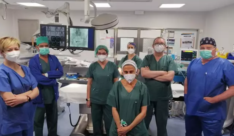 El Hospital de Jaén sustituye el contraste yodado por CO2 en procesos vasculares