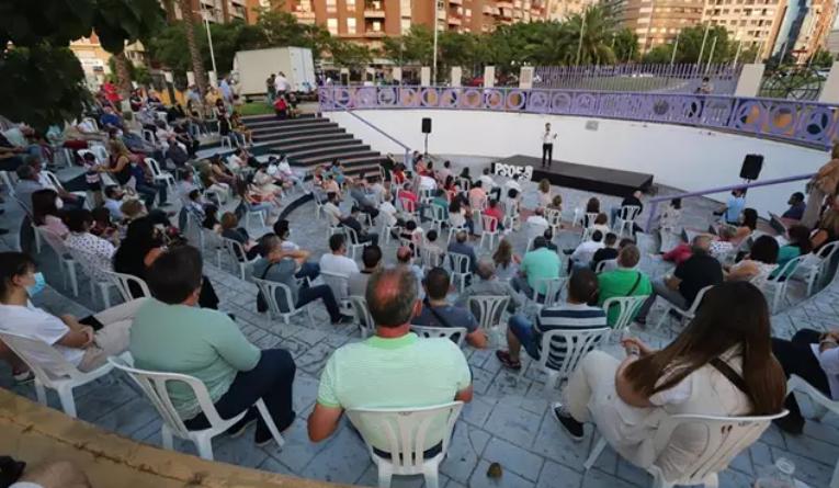 """Espadas llega al fin de la campaña de las primarias del PSOE-A con balance """"ilusionante"""" tras recorrer 10.000 kilómetros"""