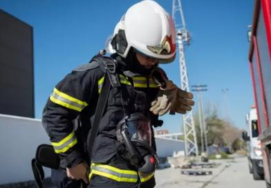 Extinguido el incendio en una fábrica de orujo de Navas de San Juan