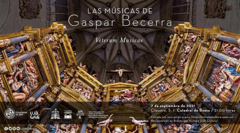 El claustro de la Catedral de Baeza acogerá en septiembre un concierto con música de Gaspar Becerra