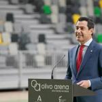 """Moreno asegura que el Gobierno andaluz está """"volcado"""" en reactivar """"proyectos emblemáticos"""" para la provincia de Jaén"""