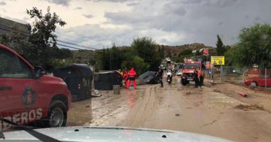 El Ayuntamiento de Jaén continúa con los trabajos en la zona afectada por la tromba de agua registrada