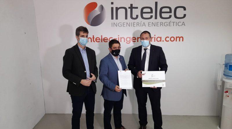 Diputación entrega un incentivo de más de 403.000 euros a la empresa jiennense Intelec para la generación de 20 empleos